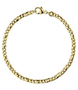 Aurora Patina Goldarmband 18,5 cm