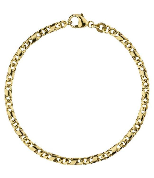 JOBO Gold chain bracelet (333) 18,5 cm