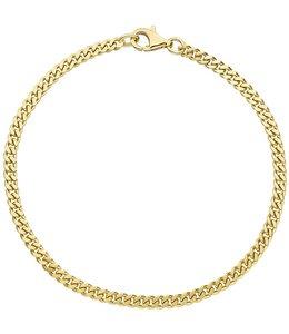 JOBO Gold chain bracelet  21 cm
