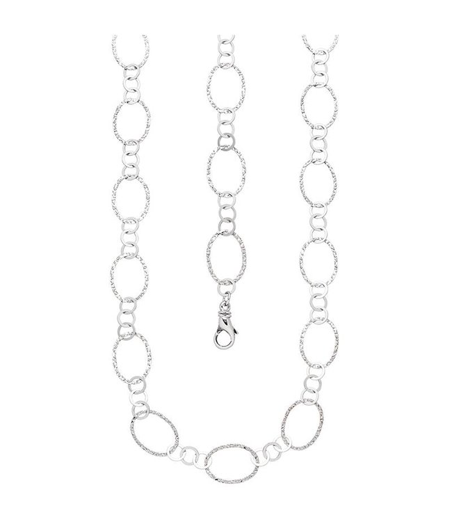 JOBO Sterling silver 925 necklace 80 cm
