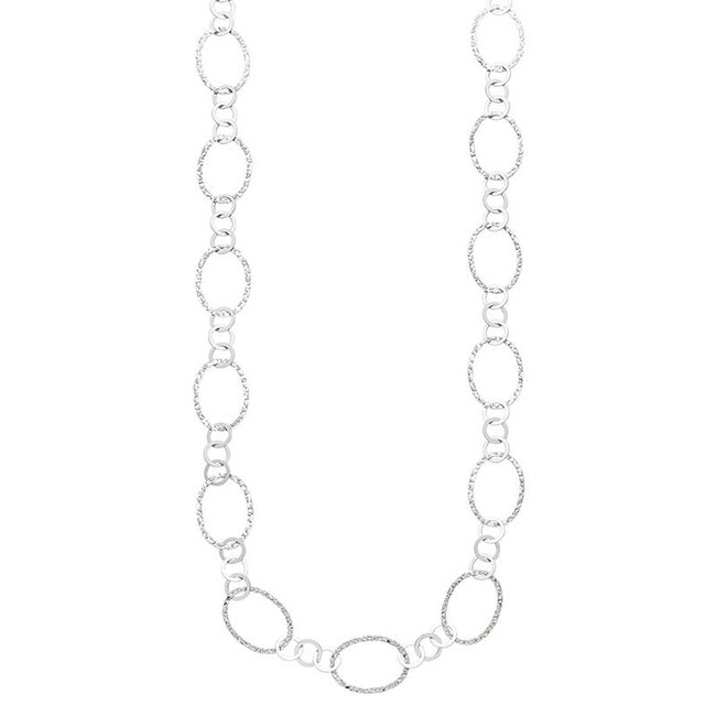 Sterling silver 925 necklace 80 cm