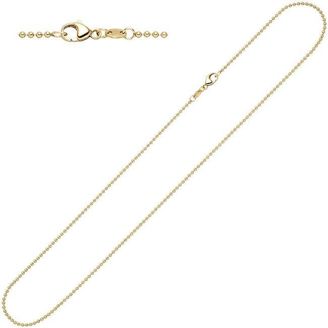 Aurora Patina Gold Kugelkette 42 cm Ø 1.5 mm
