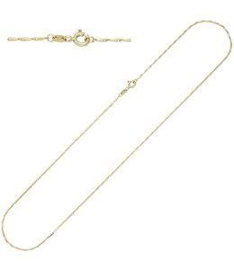JOBO Gold necklace 50 cm Ø 1.2 mm