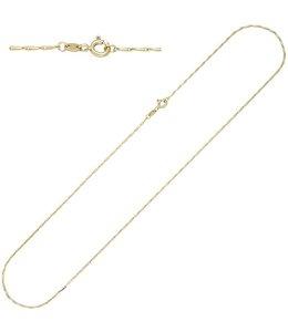 JOBO Gouden halsketting 50 cm Ø 1.2 mm