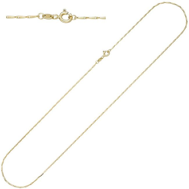 Gold necklace 14ct. 585 with a length of 50 cm