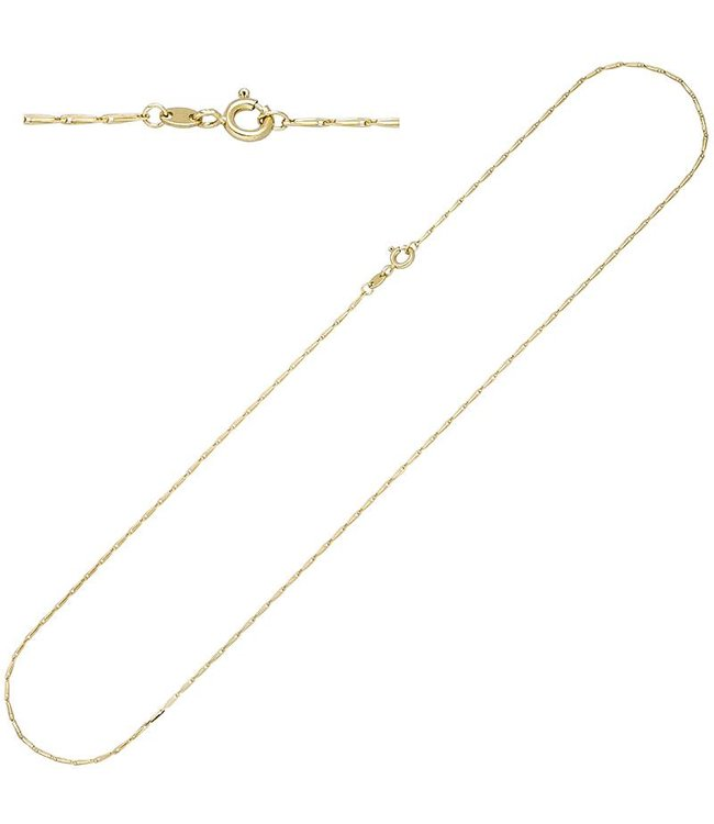 JOBO Gold necklace 14ct. 585 with a length of 50 cm