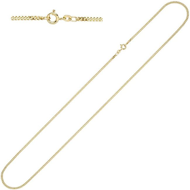 Gold necklace 8 ct. 333  with a length of 55 cm