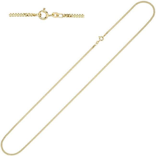 Gouden gourmet halsketting 8 kt. 333 met een lengte van 55 cm