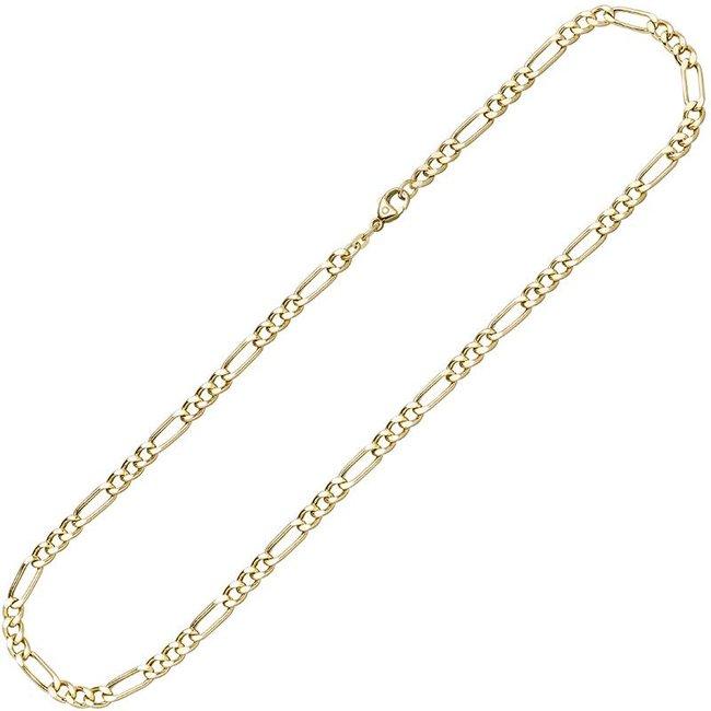 Gold 8 kt. (333) Halskette Figaro 42 cm