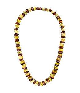 Aurora Patina Bernsteinkette in 2 Farben 58 cm