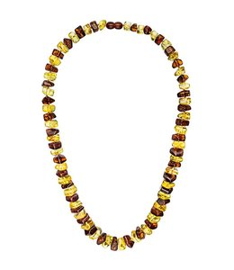 JOBO Amber necklace in 2 colors 58 cm