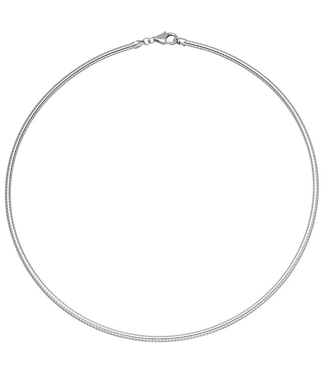 JOBO Snake chain  925 Sterling Silver diameter 2.8 mm 50 cm