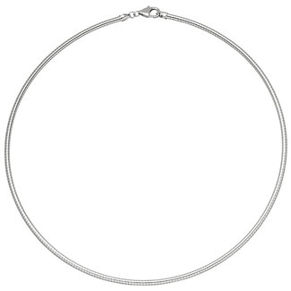 Aurora Patina Silver choker 45 cm Ø 1.4 mm