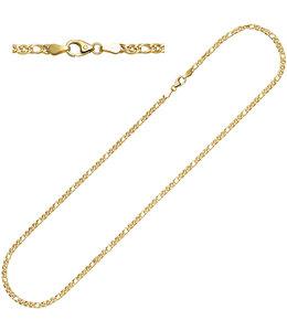 JOBO Gouden halsketting 45 cm Ø 3 mm