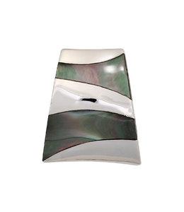 JOBO Kettinghanger zilver met parelmoer