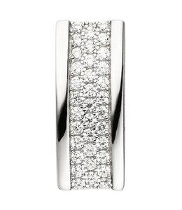 JOBO Silver pendant with 35 zirconias