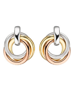 JOBO Silver earrings in three colours