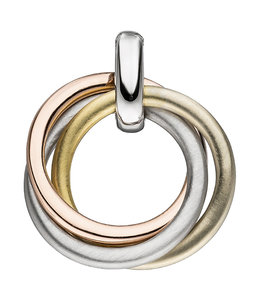 Aurora Patina Zilveren hanger in drie kleuren