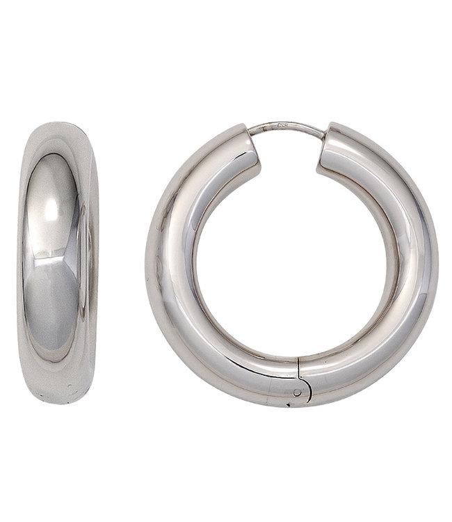 JOBO Creolen oorbellen in 925 sterling zilver