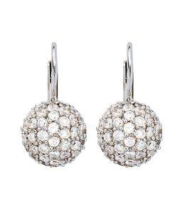 JOBO Silver earrings with zirconia
