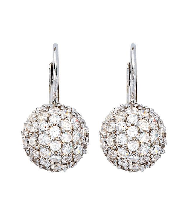 JOBO Silver earrings (925) with zirconia
