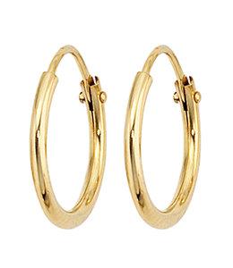JOBO Earrings creoles 333 Gold