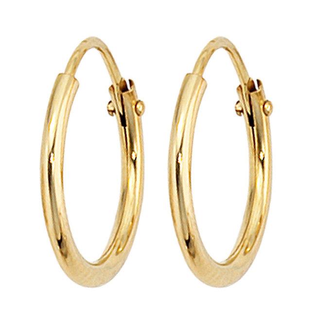 Creoles 8 carat Gold 333