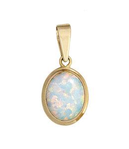 JOBO Golden pendant opal