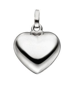 JOBO Zilveren hanger hart