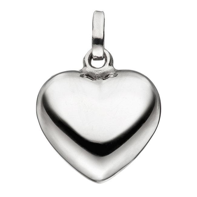 Aurora Patina Silver pendant heart