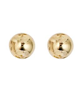 JOBO Gouden oorstekers 4 mm 8 karaat