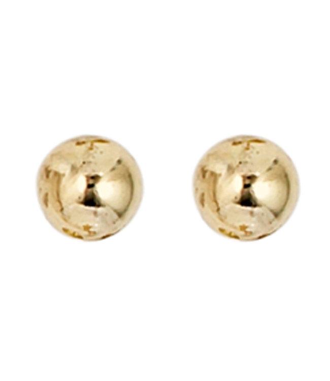 JOBO Gold earstud 8 carat (333) 4 mm