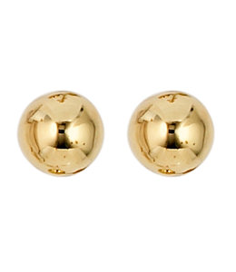 JOBO Gold Ohrstecker 5 mm 8 Karat