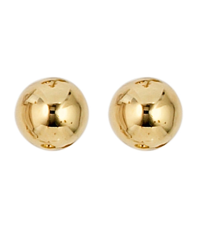 JOBO Gold earstud 8 carat (333) 5 mm