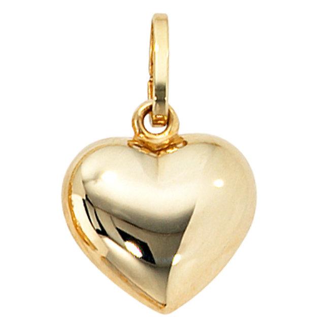 Gold pendant Heart 8 carat (333)