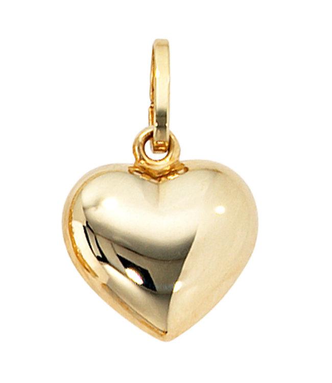 JOBO Goldkettenanhänger Herz 8 Karat (333)