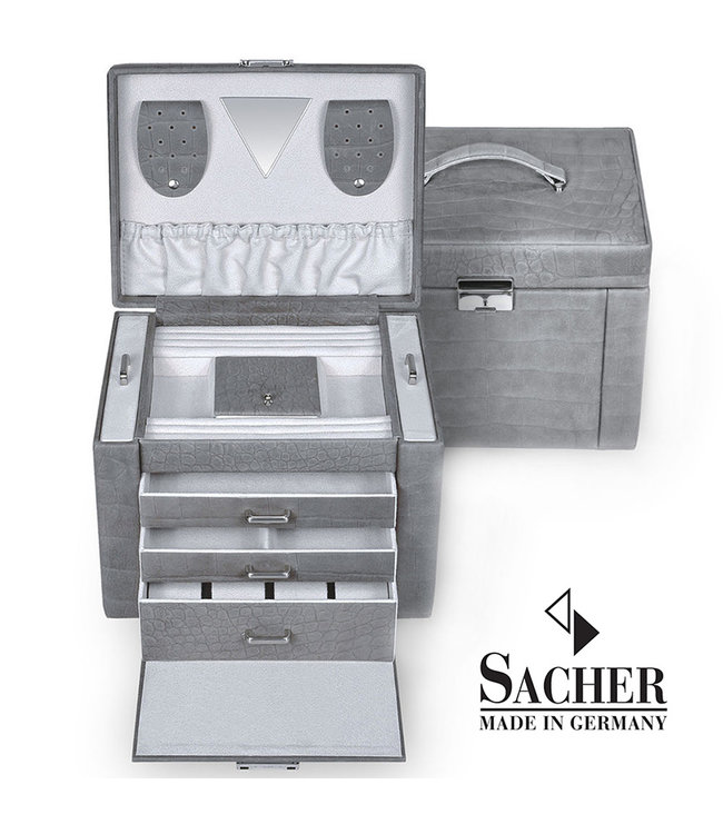 Sacher Jewelry case Maxima leather