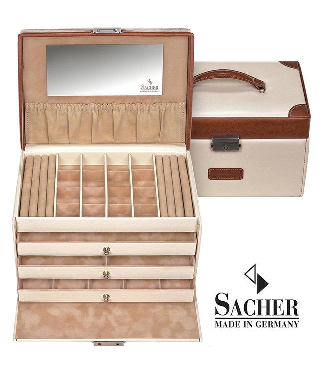 Sacher Jewelry case Lena Cream