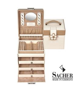 Sacher Jewellery case Erika Cream
