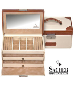 Sacher Jewellery case Elly Cream