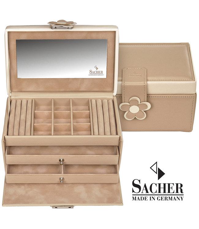 Sacher Jewelry case Elly in beige