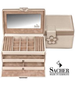 Sacher Jewellery case Elly Cream