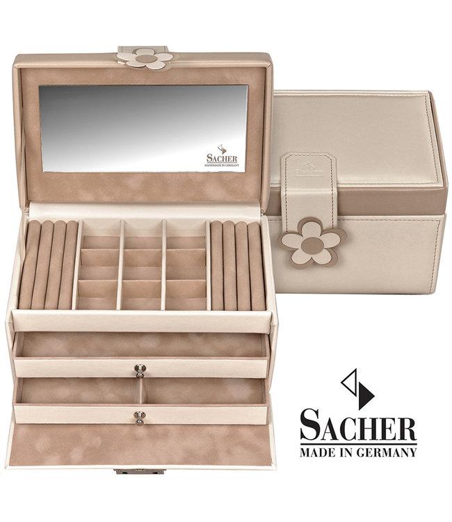 Sacher Jewelry case Elly in cream