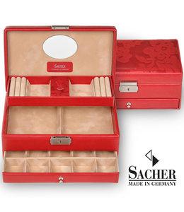 Sacher Jewelry box Hanna Red