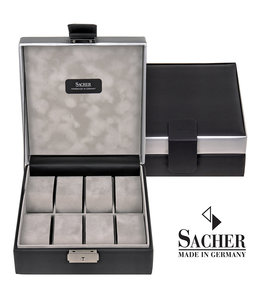 Sacher Watch box Carvon black 8 watches