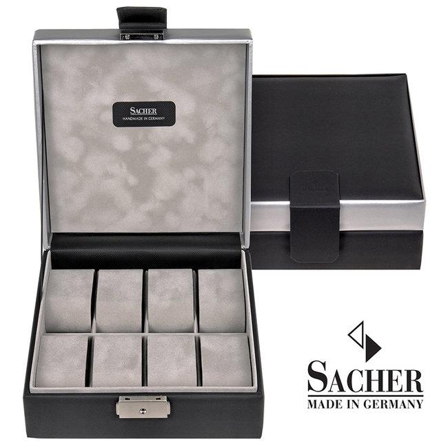 Watch storage box Carvon black 8 watches