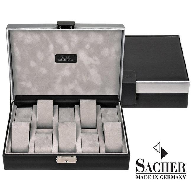 Watch storage box Carvon black 10