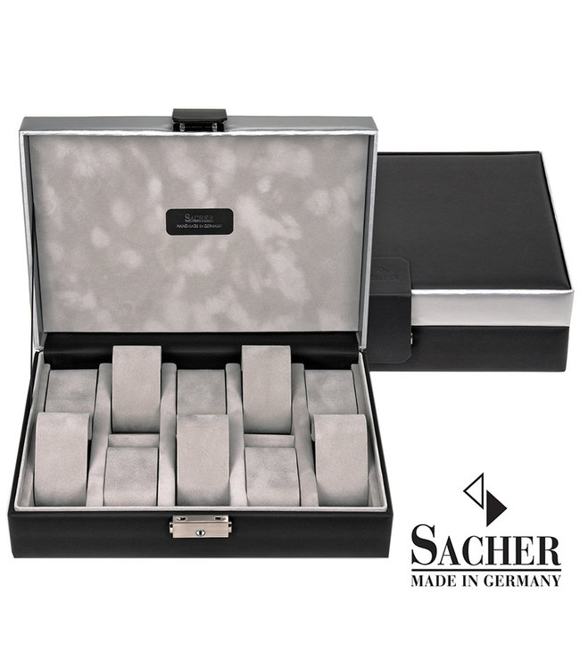 Sacher Watch storage box Carvon black 10