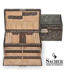 Sacher Jewellery case Eva anthracite