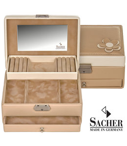 Sacher Jewellery case Carola  Beige